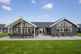 Schickes Poolhaus in Nordseeland Nr. 435